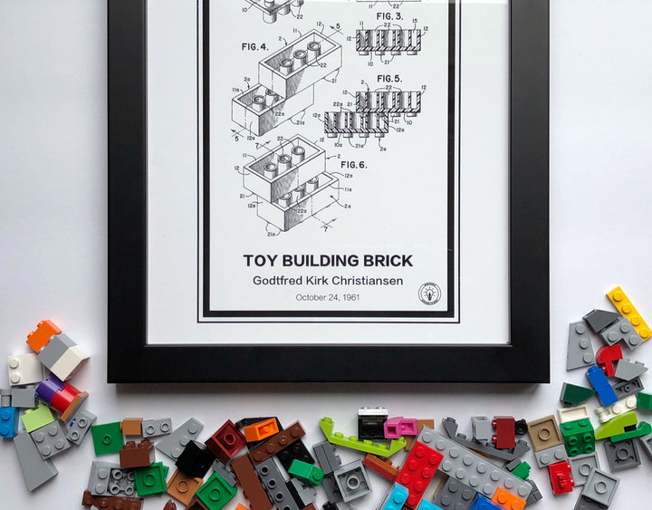 Lego Patent Print - Retro Patents