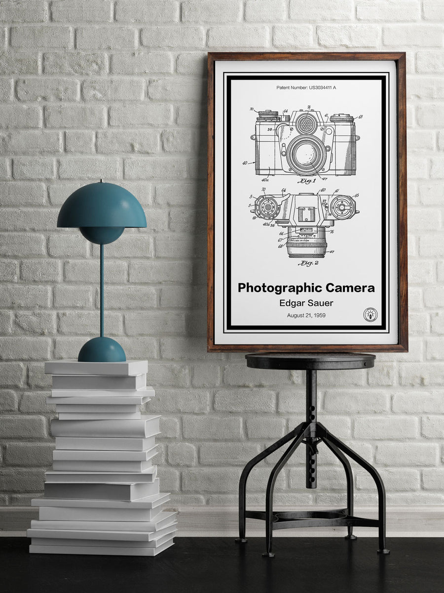 Photographic Camera Patent Print - Retro Patents