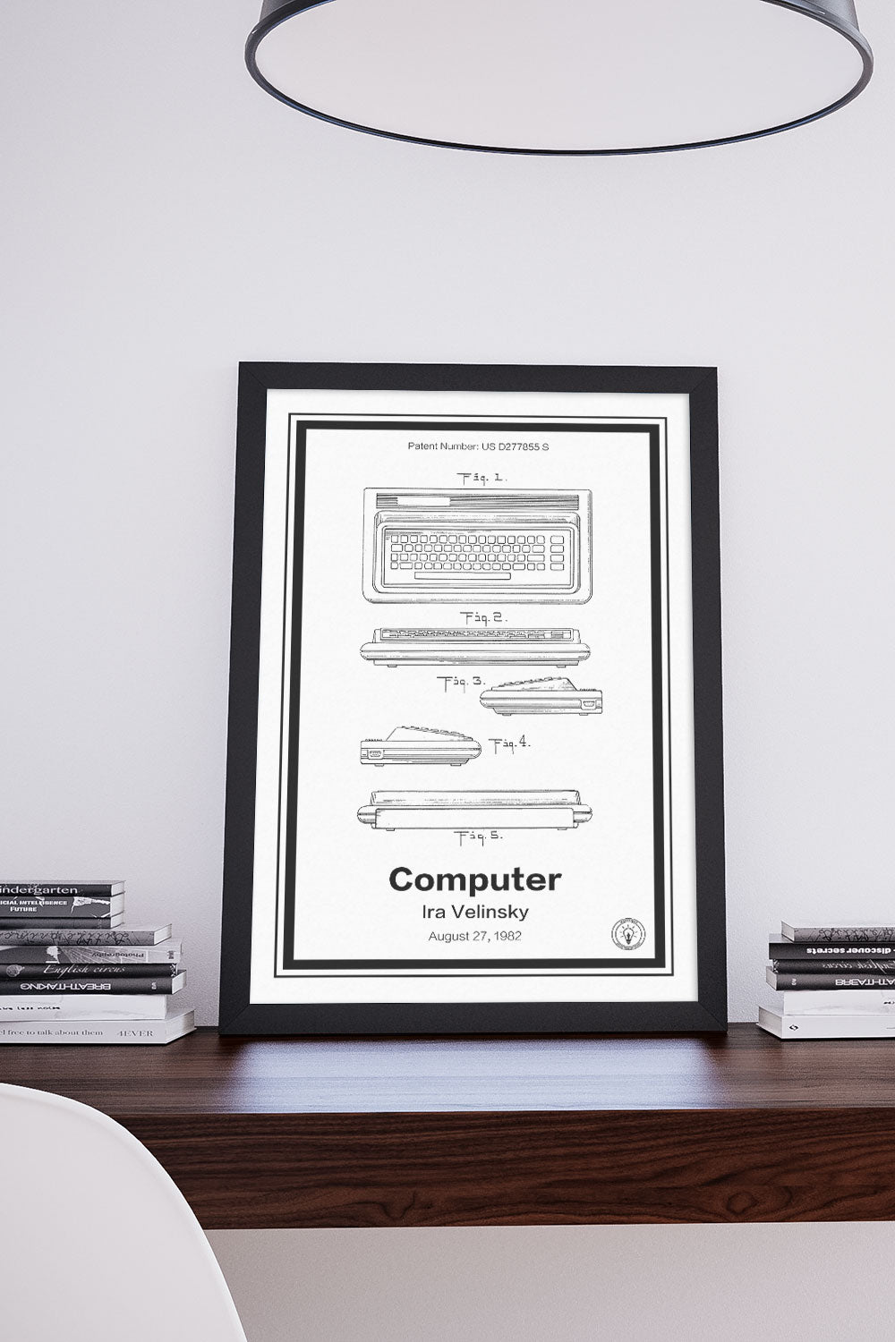 Commodore 64® Patent Print – Retro Patents