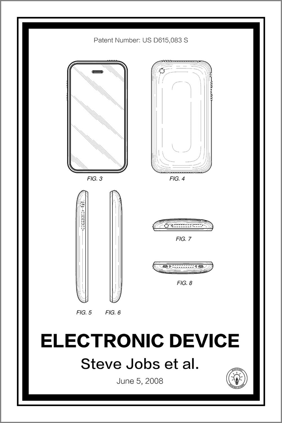 iPhone Patent Print - Retro Patents