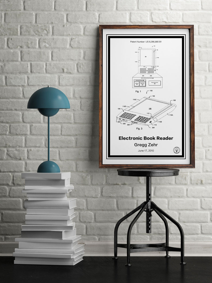 Kindle Patent Print - Retro Patents