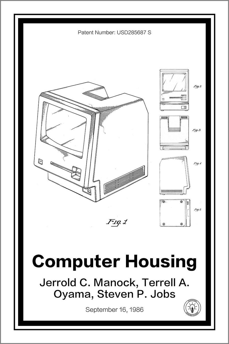 Apple Mac Computer Patent Print - Retro Patents