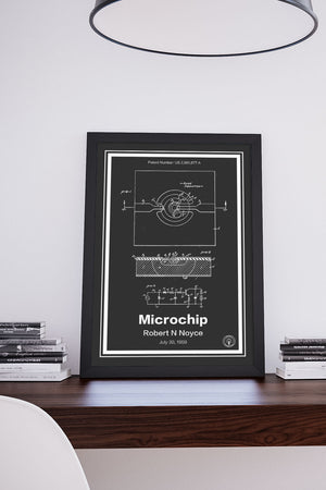 Microchip Patent Print - Retro Patents