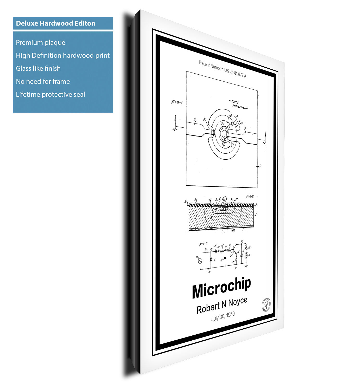microchip patent print \u2013 retro patents1959 Practical Monolithic Integrated Circuit Concept Patented The #16