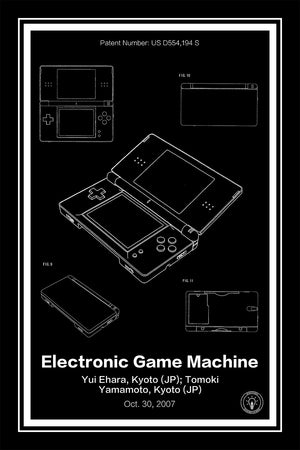 Nintendo DS® Patent Print - Retro Patents