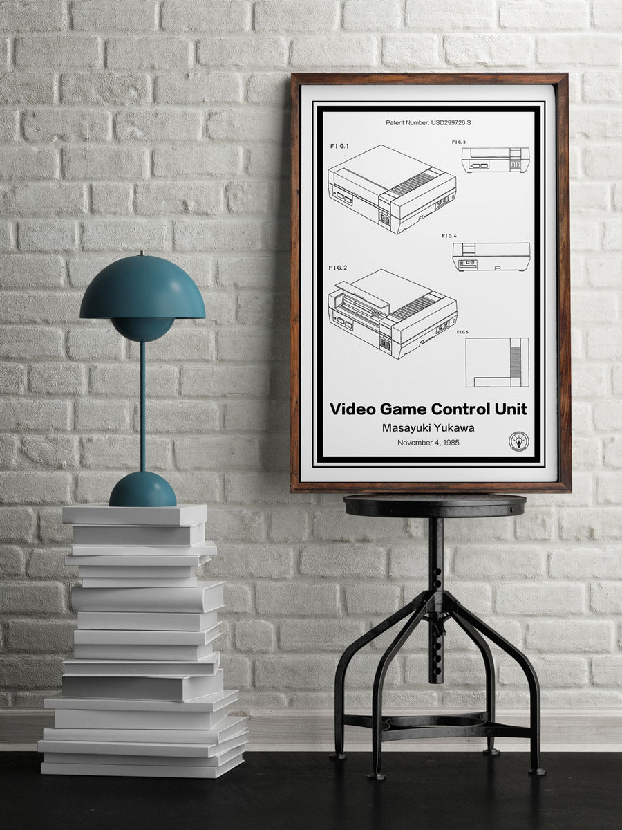 Nintendo Entertainment System® Patent Print - Retro Patents