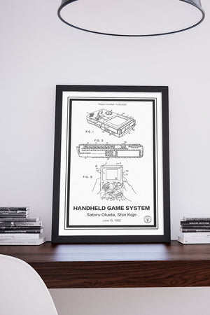 Nintendo Gameboy® - Retro Patents