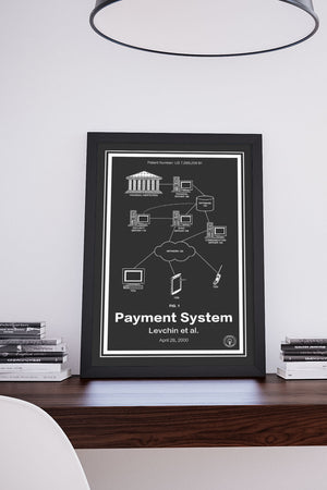 PayPal Patent Print - Retro Patents