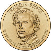 Franklin Pierce Presidential Dollar