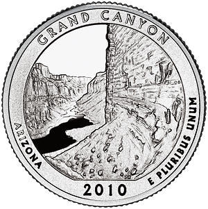 Grand Canyon Arizona National Park Quarter