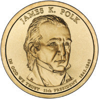 James Polk Presidential Dollar