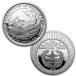 Shawnee Tribe Silver Coin
