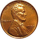 1950 Uncirculated Lincoln Cent