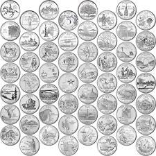 1999-2009 US State & Territories Quarters Set