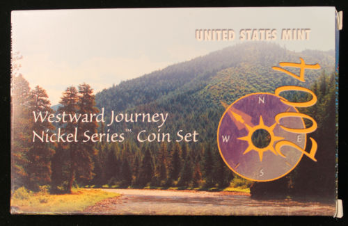 2004 US Mint Westward Journey Nickels Set
