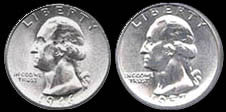 Two-Headed Quarter Novelty Coin
