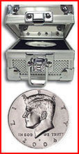 Fort Knox Box With BU Kennedy Half Dollar