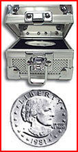 Fort Knox Box With BU SBA Dollar