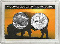 Buffalo and Bison Transformation Nickels