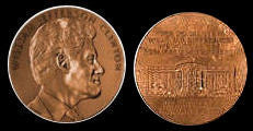William J Clinton US Mint Bronze Medal