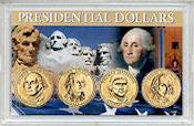 2007 P All 4 Presidents In 3X5 USA Holder