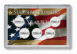 Harris 3X5 Five State 25C Snaplock US Flag Holder