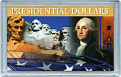 2013 D All 4 Presidents In 3X5 USA Holder