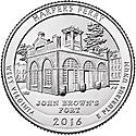 Harpers WV BU-S National Park Quarter