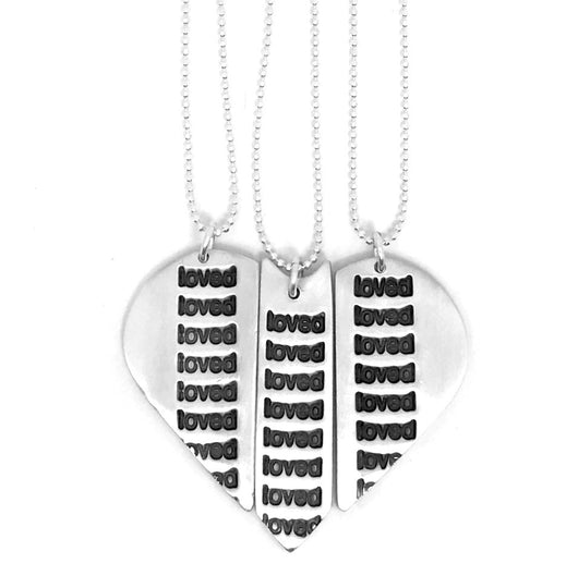 A Piece of My Heart Necklace--Share the Love