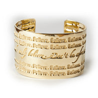 Believe Cuff--Don't Be Afraid Mark 5:36