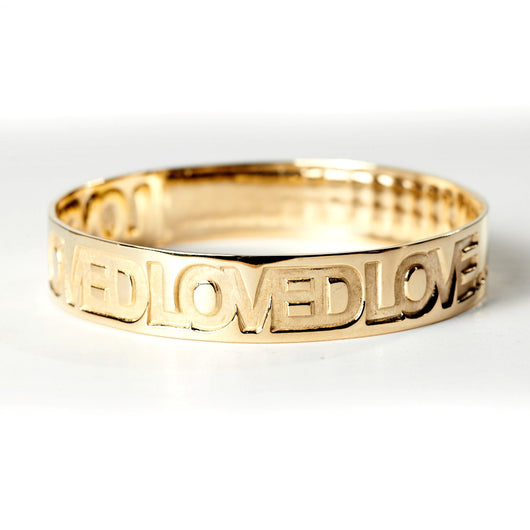 Loved Bracelet (Loved Loved Loved Love + More Love--John 3:16)