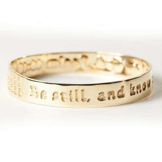 Be Still and Know...Psalm 46:10 Bracelet
