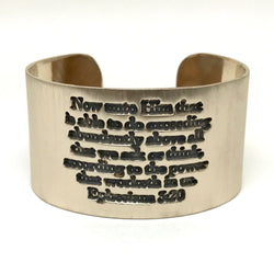 Power Within Cuff/Ephesians 3:20