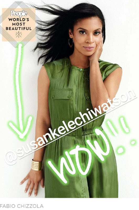 Dream Cuff (Ephesians 3:20) Limited Edition (As seen on Susan Kelechi Watson in People Magazine's Most Beautiful Issue May 1, 2017)
