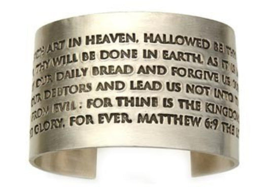 Lord's Prayer Cuff