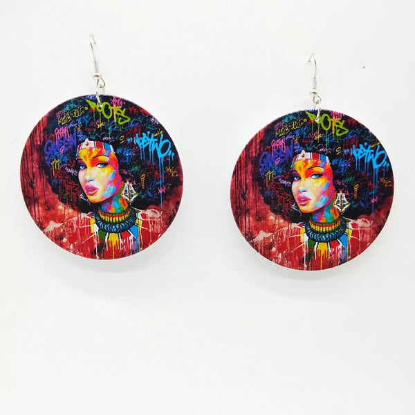 Adventurous Street Art Earrings
