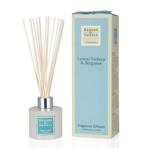 Fragrance Diffuser - Lemon Verbena & Bergamot -  Brooke & Shoals
