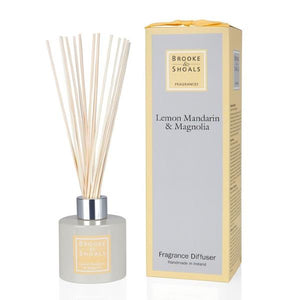Fragrance Diffuser - Lemon Mandarin & Magnolia -  Brooke & Shoals
