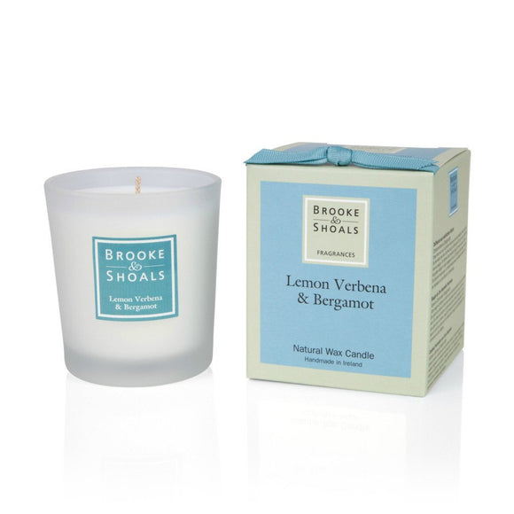 Scented Candle - Lemon Verbena & Bergamot -  Brooke & Shoals