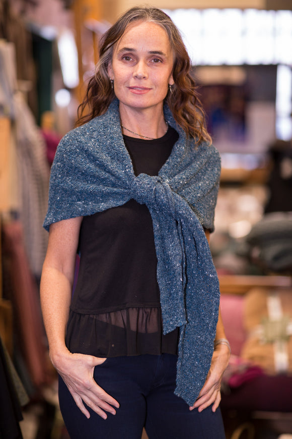 Ladies Merino & Cashmere Shawl