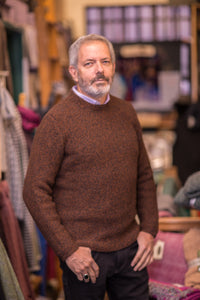 Fisherman Out of Ireland Gents Link Stitch Crew