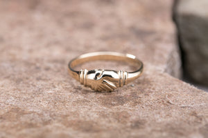 Ladies Friendship Ring 10K Gold