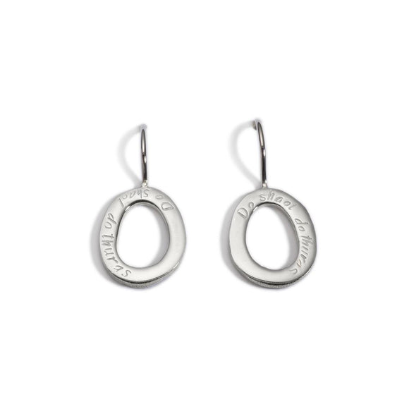 Enibas Your life Your Journey Hanging Earrings