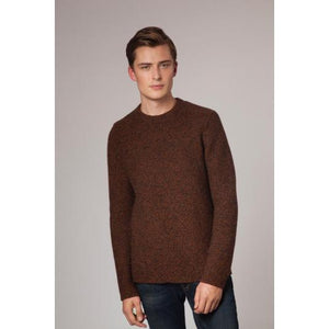 Fisherman Out of Ireland Gents Link Stitch Crew -  Fisherman Out of Ireland