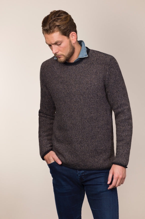 Fisherman Out of Ireland Gents Geelong Lambswool Roll Neck Sweater -  Fisherman Out of Ireland