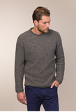 Gents Merino & Cashmere Rolled Neck Sweater -  Fisherman Out of Ireland