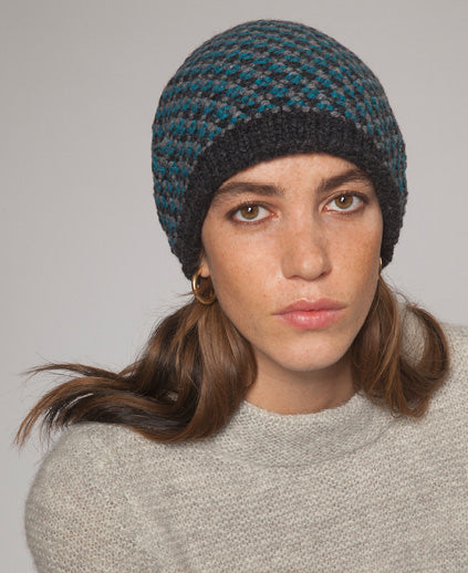 Fisherman Out of Ireland Seed Stitch Beanie -  Fisherman Out of Ireland