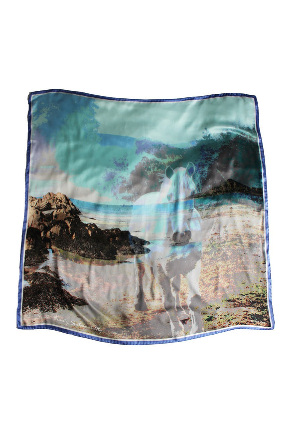 Tír na nÓg Silk Scarf -  House of Kerry