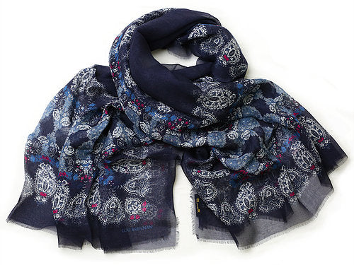 Ladies Cashmere Blended Scarf -  Lou Brennan