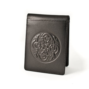 Leather Money Clip/Wallet Celtic Eternity Knot -  Lee River